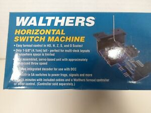 Walthers Horizontal switch machine