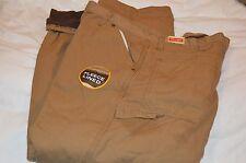New Irregular Men Wrangler Workwear Wrangler Fleece Lined Jeans Size 38X32