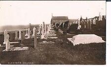 RP POSTCARD LLANABER CHURCH NEAR BARMOUTH 1916
