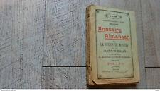 annuaire almanach la région de mantes et du canton de meulan 1932 pub rare photo