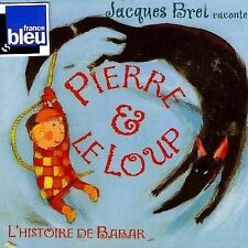 Jacques Brel - Raconte Pierre et le Loup CD NEW SEALED