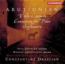 Constantine Orbelian - Violin Concerto / Concertino for Piano [New CD]