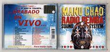 Cd MANU CHAO RADIO REMBA SOUND SYSTEM - PERFETTO 2002 En vivo Live