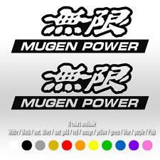 "6"" Mugen JDM Honda Civic FIT Accord S2000 Car Window Vinyl Decal sticker"