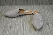 **Steve Madden Flavor Mules, Women's Size 7M, Gray Suede NEW