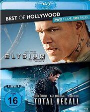 Blu-ray * Elysium + Total Recall (2012) * NEU OVP * 2 Filme