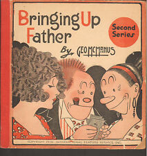 1919 Bringing up Father #2 Comic Strip Platnium Age Book by Geo. McManus (GD)