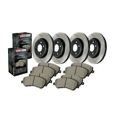 StopTech Disc Brake Pad and Rotor Kit Front-Rear for 13-16 Audi Q5 # 934.33146