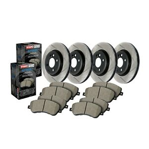 StopTech Disc Brake Pad and Rotor Kit F / R for Dodge Durango / Grand Cherokee