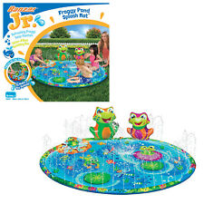 Banzai Jr Froggy Pond Splash Mat Summer Garden Water Play Sprinkler