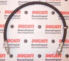 Ducati, Moto Guzzi, Brembo brake rubber hose line 480mm length has threaded ends