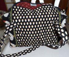 Vera Bradley small duffel style handbag in retired Chanticleer