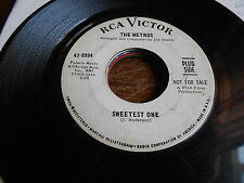 Metros NORTHERN SOUL DJ 45 Sweetest One / Time Changes Things