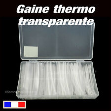 995T2# boîte assortiment transparent 10m gaine thermo rétractable  1,5 à 13mm
