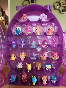 Hatchimals COLLEGGTIBLES Random Lot of 25 with case and one exclusive!