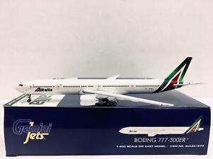 Gemin Jets 1:400 Alitalia BOEING 777-300ER EI-WLA GJAZA1673