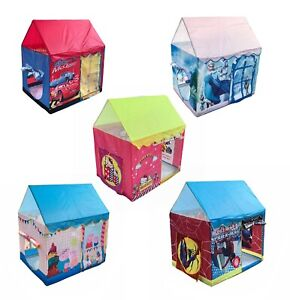 Large Baby Kids Rectangle Play Tent Spiderman Frozen Peppa Pig Hello Kitty Cars