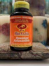 BioAstin Hawaiian Astaxanthin MFG Sealed 120 Gel Capsules MFG SEALED EXP: 2/2022