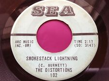 Rare Alabama Garage 45 : The Distortions ~ Hot Cha ~ Smokestack Lightning ~ SEA