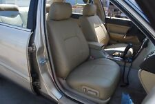 ACURA LEGEND COUPE 1987-1991 IGGEE S.LEATHER SEAT COVER 13COLORS AVAILABLE