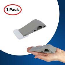 Door Stop Heavy Duty With Holder: 1 Grey Door Wedge  Door Stopper