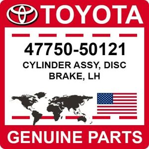 47750-50121 Toyota OEM Genuine CYLINDER ASSY, DISC BRAKE, LH