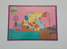 THE SIMPSONS COUCH GAGS ANNIVERSARY CELEBRATIONS CARD NUMBER # 79 REVERSE ORDER
