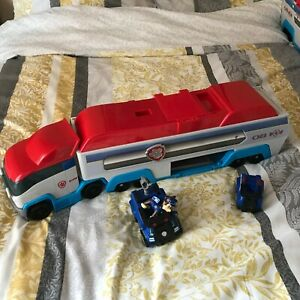 Paw Patrol Patroller Truck With Sounds  + Small Trucks & Figure