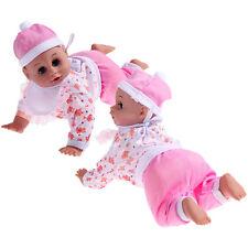 Lovely Lifelike Doll Toys Cute Windup Crawling Speaking Doll Kids Baby Xmas