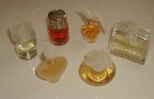 6 verschiedene Parfüm - Miniaturen aus Nachlassauflösung