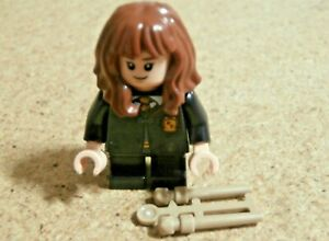 LEGO Harry Potter minifig Hermione Granger et baguette / wand  76387 Neuf