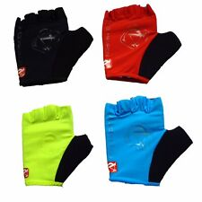 VeloChampion Cycling /Weight Lifting Fingerless Mitts with Padded Pro Palm