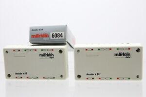 H0 Märklin 6084 2x Decoder k 84 digital Konvolut +OVP..J58