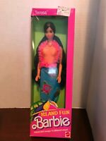 Barbie Island Fun Teresa Doll #4117 Vintage 1987 NRFB BARCODE REMOVED
