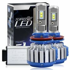 4CHIPS 70W 7200LM H11 H8 H9 LED Lamp Headlight Kit Car Beam Bulbs 6000K Canbus
