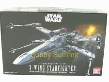 STAR WARS 1/72  X-WING STARFIGHTER  T-65 Space Superiority Fighter  Bandai Kit!