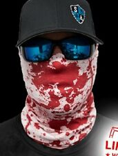 SA CO Official Bloody Face Shield Sun Mask Balaclava Neck Gaiter Neckerchief USA
