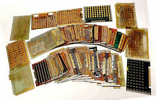 GOLD RECOVERY 8.99 LBS SCRAP CIRCUIT BOARDS FOR EDGE CONN. & SOME GOLD TRACE