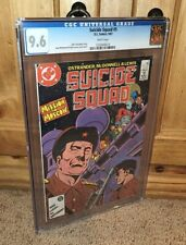 The Flight of The Firebird! AWESOME 1987 DC Suicide Squad #5 CGC Graded 9.6 NM+