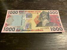 Sierra Leone Banknote - 1000 Leones -2003 - Free Shipping
