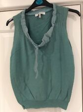 Ladies Mariella Rosati Green Top Size 10