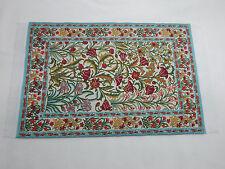 "6""x9"" #57KK Heidi Ott  Dollhouse Miniature 1:12 Scale Floor Carpet   Woven Rug"