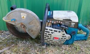Makita DPC6410 Petrol Disc Cutter Stihl Saw. Spares Or Repair. Starts and Runs.
