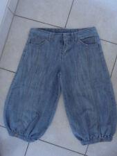 bermuda femme en jean, taille 36