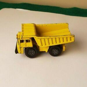 Vintage 1976 Matchbox Lesney Superfast - Faun Dump Truck No. 58 - Good Condition