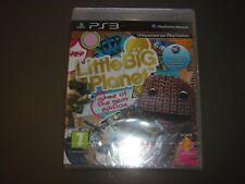 JEU PS3 LITTLE BIG PLANET  GAME OF THE EDITION JEU PS3 NEUF SOUS BLISTER