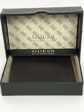 Guess By Marciano Men's Bifold Wallet Genuine Leather - Brown