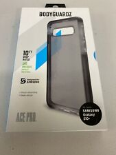Bodyguardz Ace Pro Case for Samsung Galaxy S10+, Impact Protection - Black