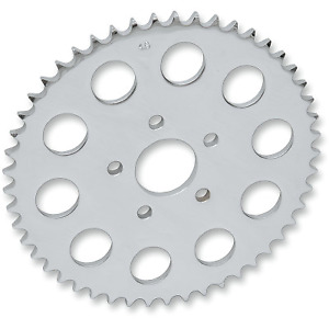 Drag Specialties - 16429P - 530 Chain Conversion Rear Sprocket, Flat - 46T Harle
