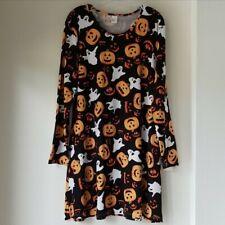 Halloween Print Swing Dress New Size Large